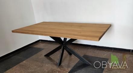 Столи та столешні з натурального дерева від виробника.