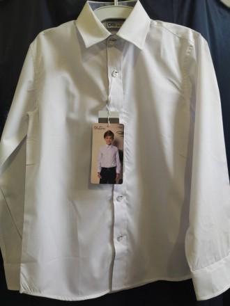 Сорочка для хлопчика ТМ Deloras білого кольору . Дана модель арт.70744 з довгим . Винница, Винницкая область. фото 2
