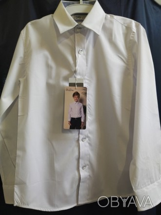 Сорочка для хлопчика ТМ Deloras білого кольору . Дана модель арт.70744 з довгим . Винница, Винницкая область. фото 1
