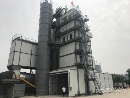 Стационарный асфальтобетонный завод SINOSUN SAP240 (240 т/час)