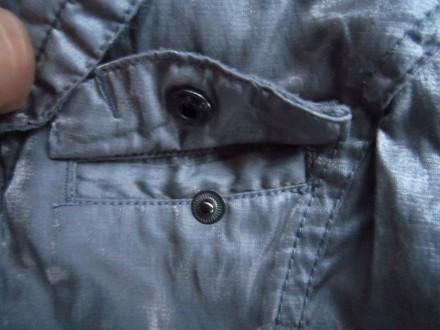 Фирменный стильный, очень красивый пиджак серого с отливом цвета ,р.128. В отлич. Пирятин, Полтавская область. фото 10