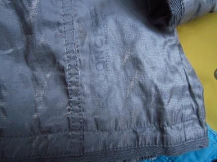 Фирменный стильный, очень красивый пиджак серого с отливом цвета ,р.128. В отлич. Пирятин, Полтавская область. фото 11