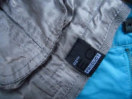 Фирменный стильный, очень красивый пиджак серого с отливом цвета ,р.128. В отлич. Пирятин, Полтавская область. фото 8
