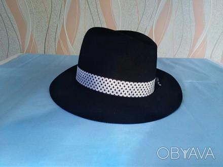Шляпа жіноча чорна  Капелюх (шляпка)