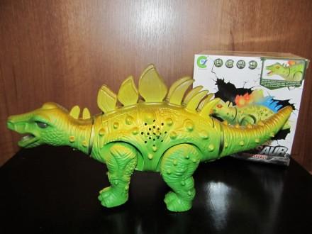 Динозавр Новый Длина 27 см Работает от батареек Материал - пластмасса Упако. Киев, Киевская область. фото 2