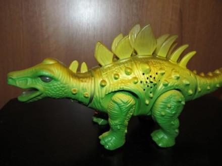 Динозавр Новый Длина 27 см Работает от батареек Материал - пластмасса Упако. Киев, Киевская область. фото 6