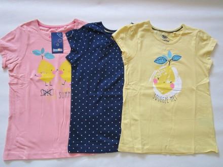 Красивые, яркие футболки для девочек Lupilu Германия оригинал р.86-116. Днепр. фото 1