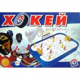 Настольная игра хоккей технок. Лозовая. фото 1