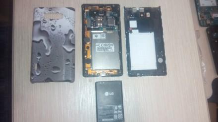 Мобильный телефон LG P705 по запчастям. Верхнеднепровск. фото 1