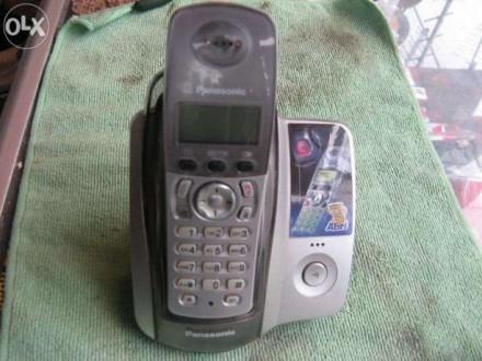 Радиотелефон Panasonic б\у. Запорожье. фото 1