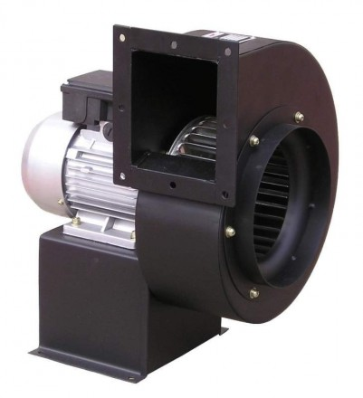 Вентилятор радиальный (центробежный) Turbo DE 250 3F. Днепр. фото 1