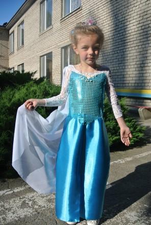 Прокат платья Эльзы из Холодного сердца. Запорожье. фото 1