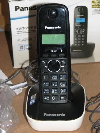 Беспроводной телефон Panasonic KX-TG1611UA. Днепр. фото 1