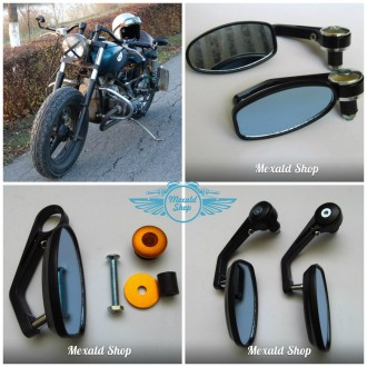 Зеркала на мотоцикл Custom. Харьков. фото 1