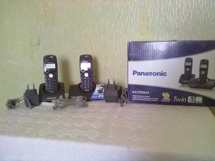 Цифровой беспроводный телефон. Павлоград. фото 1