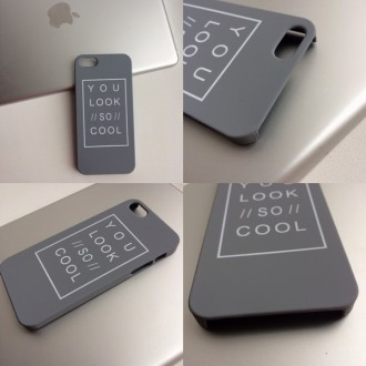 Тонкая пластиковая накладка , с приятным матовым покрытием Soft Touch для iPhone. Днепр, Днепропетровская область. фото 5