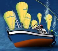 Подводный парашют лифт для подъема из под воды грузов 100 и более кг водолаз. Запорожье. фото 1