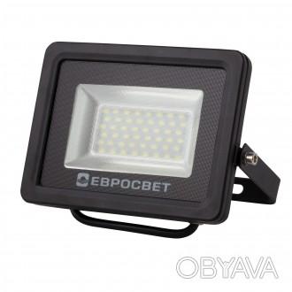Прожектор светодиодный 20W 1800Lm 6400K IP65 EVRO LIGHT EV-20-01 SanAn Цвет све. Киев, Киевская область. фото 1