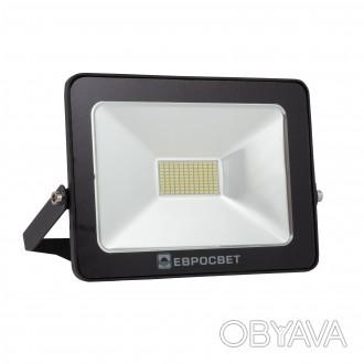 Прожектор светодиодный 30W 2400Lm 6400K IP65 EVRO LIGHT EV-30-01 НМ Цвет свечен. Киев, Киевская область. фото 1