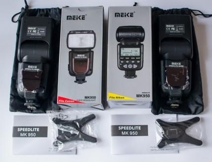 TTL вспышки Meike MK-950 для Canon/Nikon спалах (MK950) Нові! Наложка. Львов. фото 1