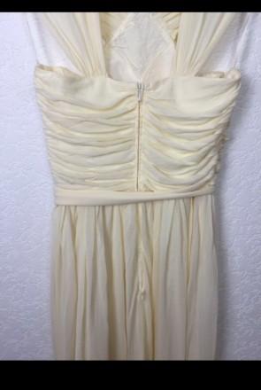 Очень красивое нарядное вечернее платье в пол. Материал - 80% триацетат, 20% пол. Киев, Киевская область. фото 8