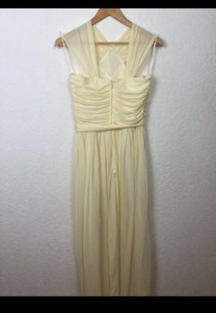 Очень красивое нарядное вечернее платье в пол. Материал - 80% триацетат, 20% пол. Киев, Киевская область. фото 7