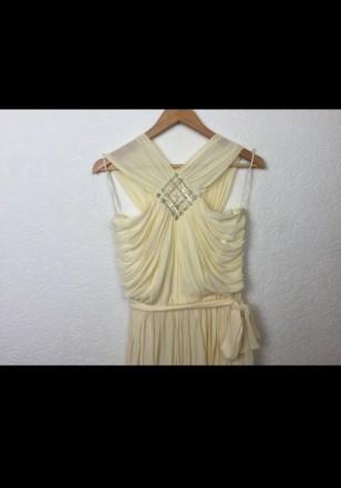 Очень красивое нарядное вечернее платье в пол. Материал - 80% триацетат, 20% пол. Киев, Киевская область. фото 6