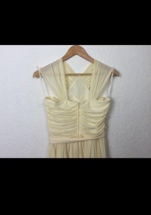 Очень красивое нарядное вечернее платье в пол. Материал - 80% триацетат, 20% пол. Киев, Киевская область. фото 4