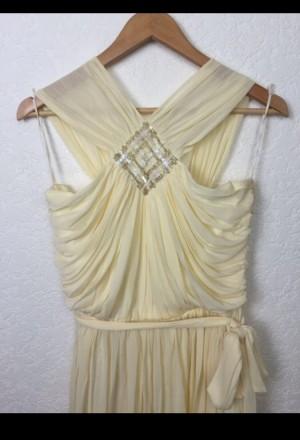 Очень красивое нарядное вечернее платье в пол. Материал - 80% триацетат, 20% пол. Киев, Киевская область. фото 5