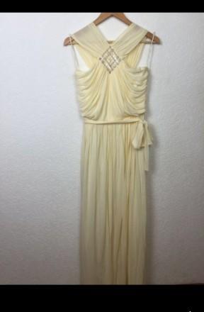 Очень красивое нарядное вечернее платье в пол. Материал - 80% триацетат, 20% пол. Киев, Киевская область. фото 2