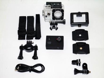 Спортивная Action Camera Full HD A7  Action Camera Full HD A7 с возможностью съ. Днепр, Днепропетровская область. фото 9