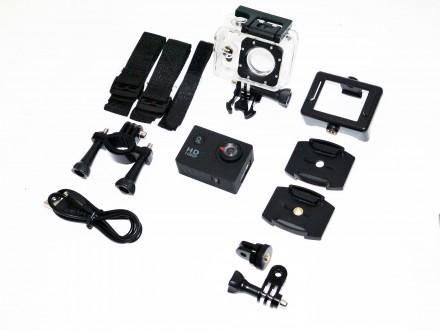 Спортивная Action Camera Full HD A7  Action Camera Full HD A7 с возможностью съ. Днепр, Днепропетровская область. фото 8