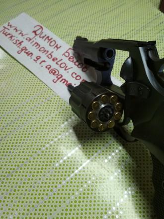 Изготовлю почти любой револьвер под заказ,дудки гладкие и нарезные,барабан не ба. Киев, Киевская область. фото 6