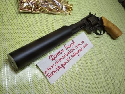 Изготовлю почти любой револьвер под заказ,дудки гладкие и нарезные,барабан не ба. Киев, Киевская область. фото 2