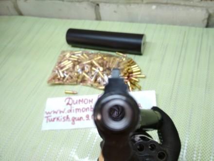 Изготовлю почти любой револьвер под заказ,дудки гладкие и нарезные,барабан не ба. Киев, Киевская область. фото 4