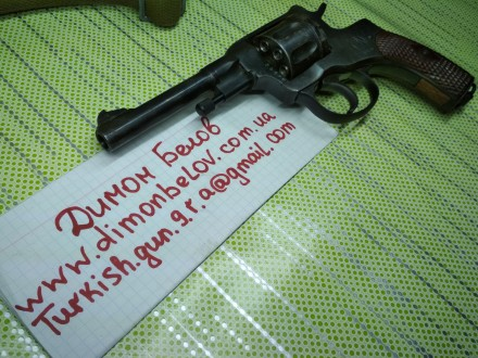 Изготовлю почти любой револьвер под заказ,дудки гладкие и нарезные,барабан не ба. Киев, Киевская область. фото 13