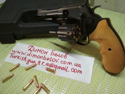 Изготовлю почти любой револьвер под заказ,дудки гладкие и нарезные,барабан не ба. Киев, Киевская область. фото 3