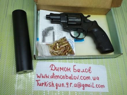 Изготовлю почти любой револьвер под заказ,дудки гладкие и нарезные,барабан не ба. Киев, Киевская область. фото 9