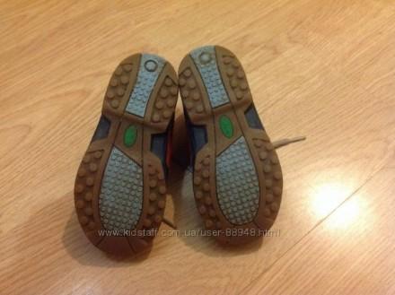 Демисезонные кожаные ботиночки Clarks 6,5 G. Состояние очень хорошее. При ходьбе. Чернигов, Черниговская область. фото 6