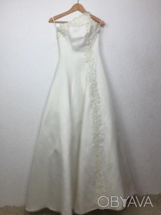 Очень красивое свадебное платье, которое подчеркнёт все достоинства невесты. Цве. Киев, Киевская область. фото 1