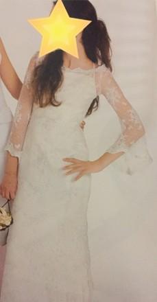 Безумно красивое кружевное свадебное платье на миниатюрную невесту, ручная работ. Киев, Киевская область. фото 8