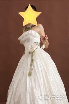 ac2a667b9d2 ᐈ Новое романтичное свадебное платье с цветком свадебные платья ᐈ ...