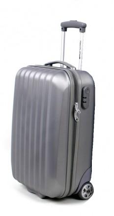 Маленький французский пластиковый чемодан на 4-х колесах всемирно известной марк. Киев, Киевская область. фото 4