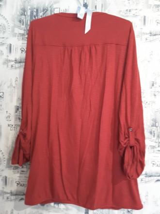 Прияная блузка от немецкого бренда S.Oliver вишнёвого цвета идеально дополнит Ва. Пирятин, Полтавская область. фото 3