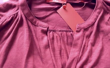 Прияная блузка от немецкого бренда S.Oliver вишнёвого цвета идеально дополнит Ва. Пирятин, Полтавская область. фото 4