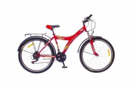 Универсальный городской велосипед с трансмиссей на 21 скорость, амортизацией и ф. Кривой Рог, Днепропетровская область. фото 3