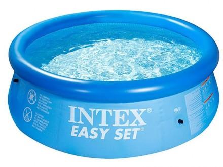 Надувной семейный бассейн басейн Easy Set Intex 28110. Днепр. фото 1