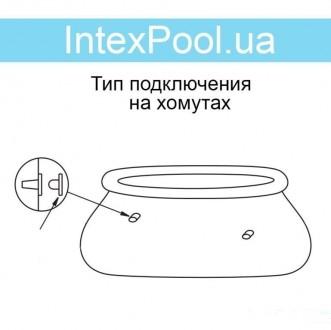 Надувной семейный бассейн Easy Set Intex 28101  ПроизводительIntex  Материал. Днепр, Днепропетровская область. фото 6