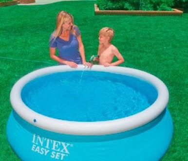 Надувной семейный бассейн Easy Set Intex 28101. Днепр. фото 1