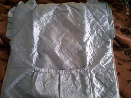 Продам тёплый голубой конвертик-одеялко. Чернігів. фото 1